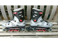 Size 10 men's inline skates - used once