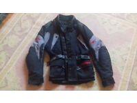 Black medium bikers jacket
