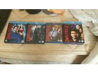 Seasons 6 to 9 of smallville on blu-ray