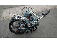 Trek F400 Navigator folding bike - Brompton-like