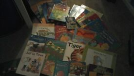 bundle of toddler's books