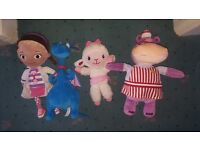 Doc McStuffins soft toys