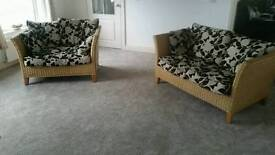 Sunroom sofas and tables