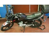 Yamaha ybr 125 125cc motorbike