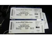 Stone Roses Ticket's