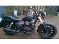 Keeway Superlight 125cc motorbike for sale