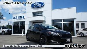 2016 Ford Focus *NEW* HATCHBACK SE *201A* AUTO *LUXURY PACKAGE*