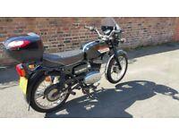 cz 125 cc 8months mot good condition