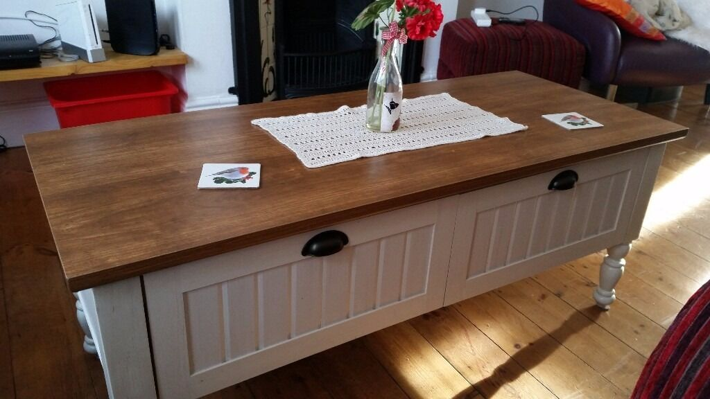 Ellingham Coffee Table With 2 Drawers Homebase
