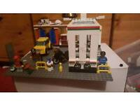 Lego petrol station with car wash set number 7993