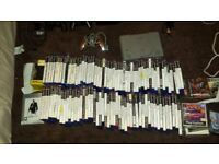 Ps2 2 pads 2 memory cards all cables 100 games 50pound