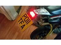 Road legal pitbike