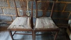 Dinning antiques chair