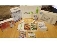 NINTENDO Wii + Wii FIT + 5 GAMES