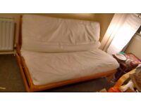 Futon Company double sofa bed with mattress