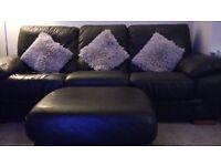 Leather Suite n Display Unit