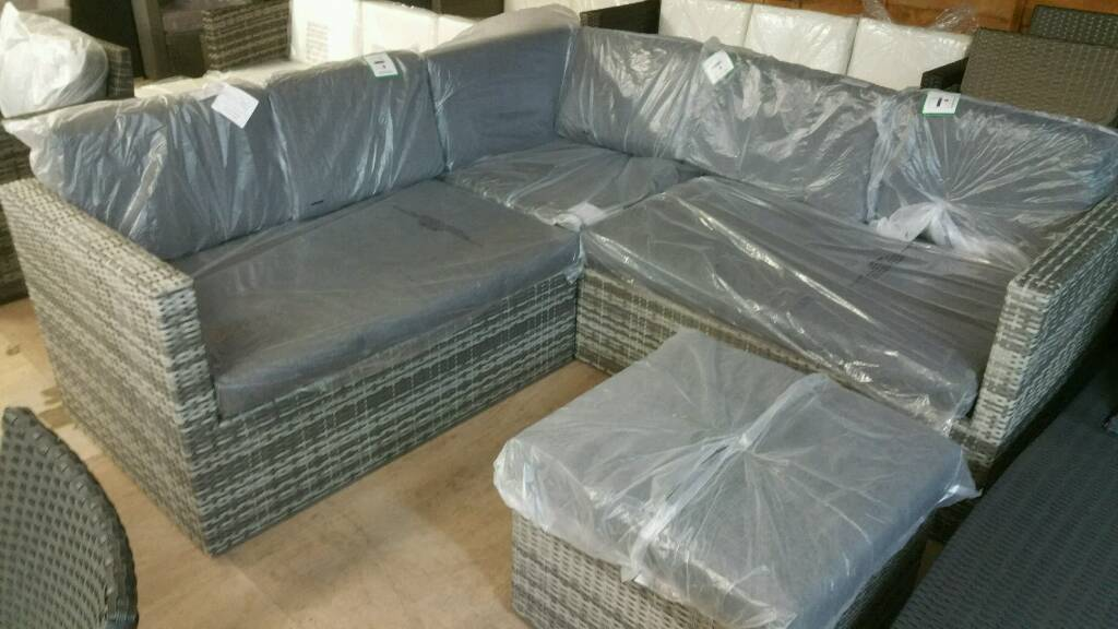 Very Garden Furniture A brand new slight seconds mixed grey very good quality rattan a brand new slight seconds mixed grey very good quality rattan garden furniture set workwithnaturefo