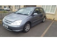 HONDA CIVIC VTEC EXECUTIVE AUTO HATCHBACK, Full leathers , 1590cc, 5 Door, 2005,Hpi clear!must view