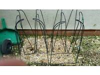 Cane supports for grow bags