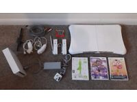 Wii bundle ... all in great working order and new batteries...