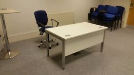 A separateOFFICE SPACE is available for RENT FROM £175 PWEEK Including Heat Light Internet Etc