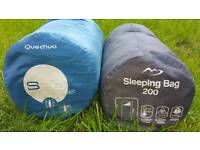 2x sleeping bags also other camping gear!L@@k fotos in good condition can deliver or post!