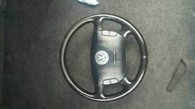 Vw passat b5.5 steering wheel