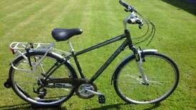 SOLD AS NEW LESS THAN HALF PRICE MENS CLAUD BUTLER ODYSSEY TREKKING HYBRID BIKE * FULLY SERVICED *