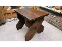 Reclaim scaff outdoor table