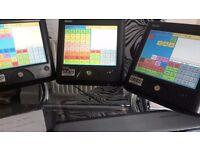1X SAm4s sps 2000B Touch screen Cash register Till