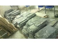 2.5 Tonne - Top Quality Reclaimed Westmorland Greens Roofing Slate Tile - Best offer.