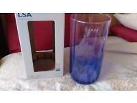 LSA mezzo vase rose/violet