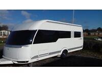hobby caravan fixed bed 2016 single axle