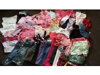 2-3 years girl clothes 65 items