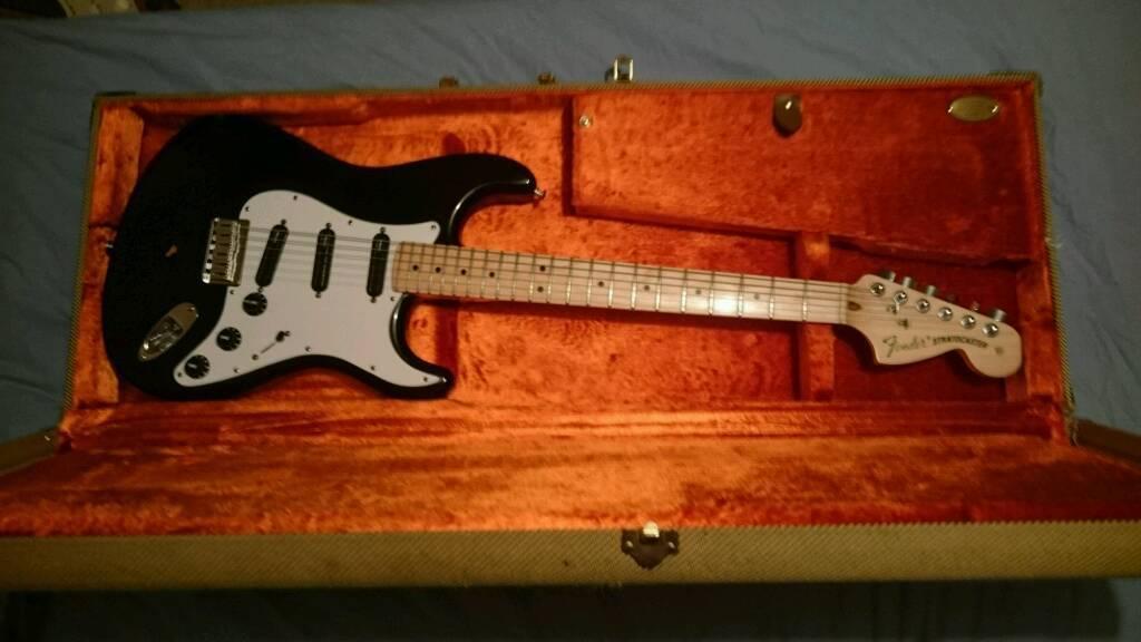 usa fender stratocaster billy corgan signature strat guitar w tweed hardcase in walton le. Black Bedroom Furniture Sets. Home Design Ideas