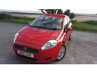 2007 grande punto in great condition,full leather interior,1 year not,£2295ono