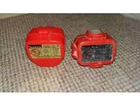 2 Makita drill batteries