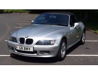 bmw z3 on private plate