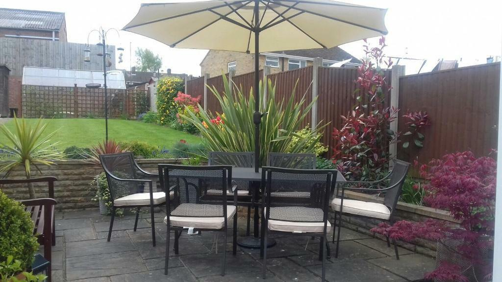 Rimini 6 seater patio dining set. Rimini 6 seater patio dining set   in Ilkeston  Derbyshire   Gumtree