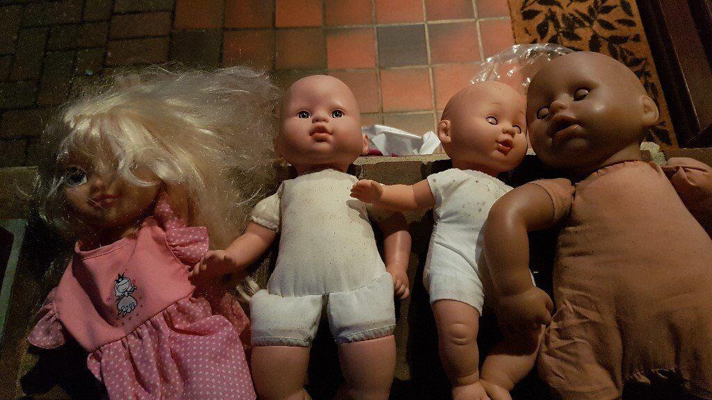 Childrens Dolls (4x)
