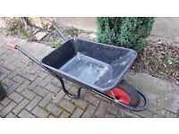 Wheel barrow, very little use, £20, available now
