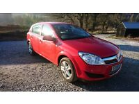 Vauxhall astra active 1.4 petrol