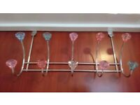 Over door hanger rack
