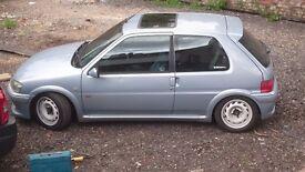 Peugeot 106 gti rallye 16v