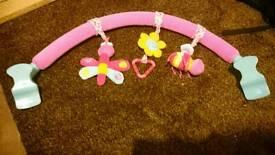 Pram activity toys arch