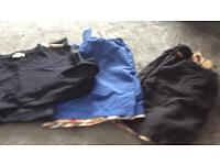 Genuine Burberry boys top and shorts