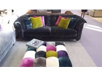 Factory Shop - sofas, chairs, dining chairs, cushions and fabrics on clearance
