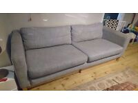 Ikea Karlstad sofas 3-seater and 2-seater