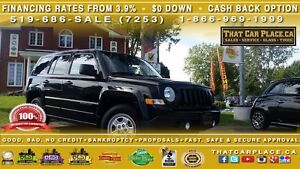 2015 Jeep Patriot North-$70/Wk-4X4-Cruise-Low Km's-AUX/CD/MP3