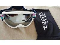 No Fear Ski Snowboard goggles adults white